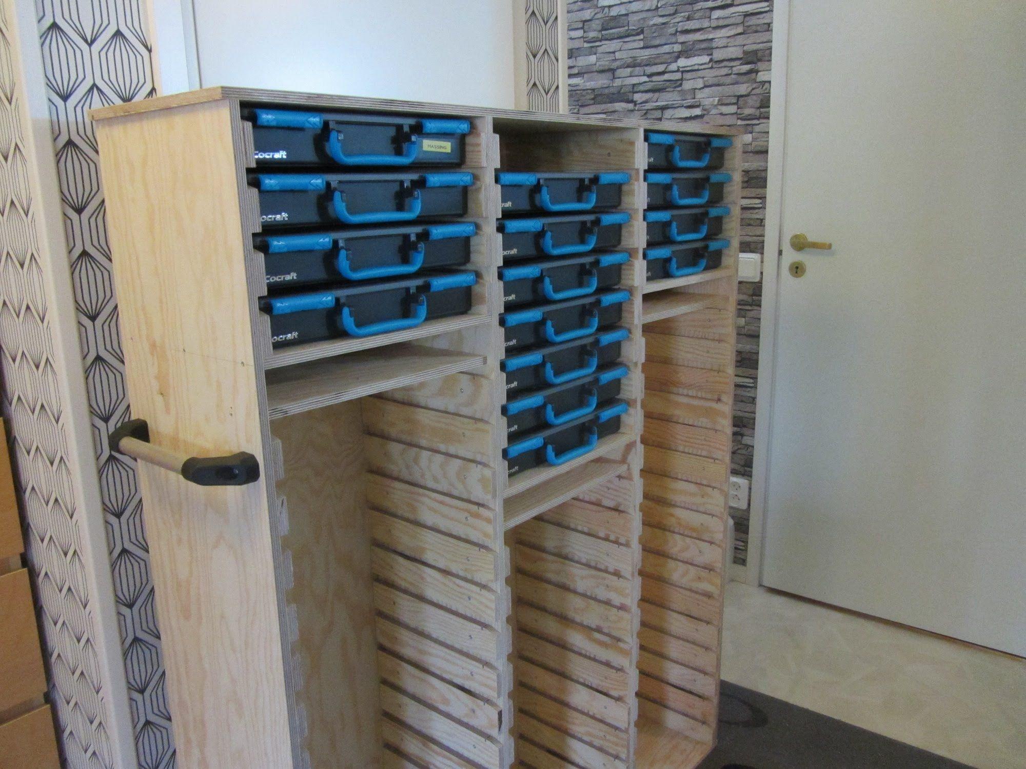 Raaco storage rack  A Sortimo Copy   Garage   Diy storage