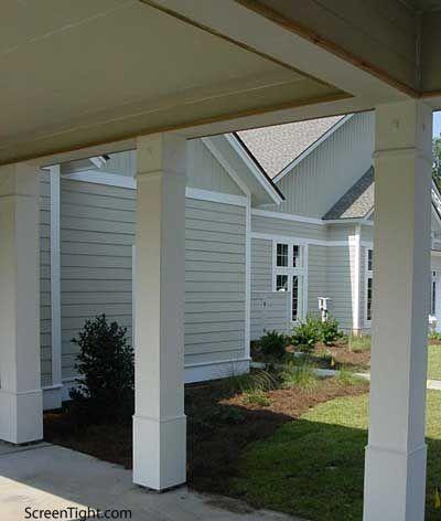 Vinyl Porch Column Front Porch Columns Porch Column Wraps