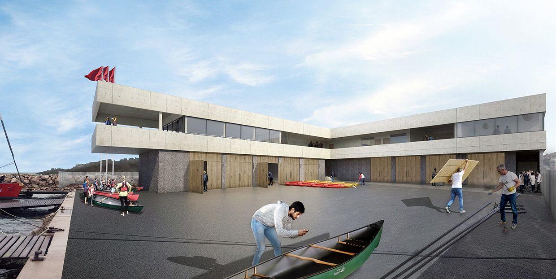 Base Nautique A Sete France Nbj Architectes Nas Architecture