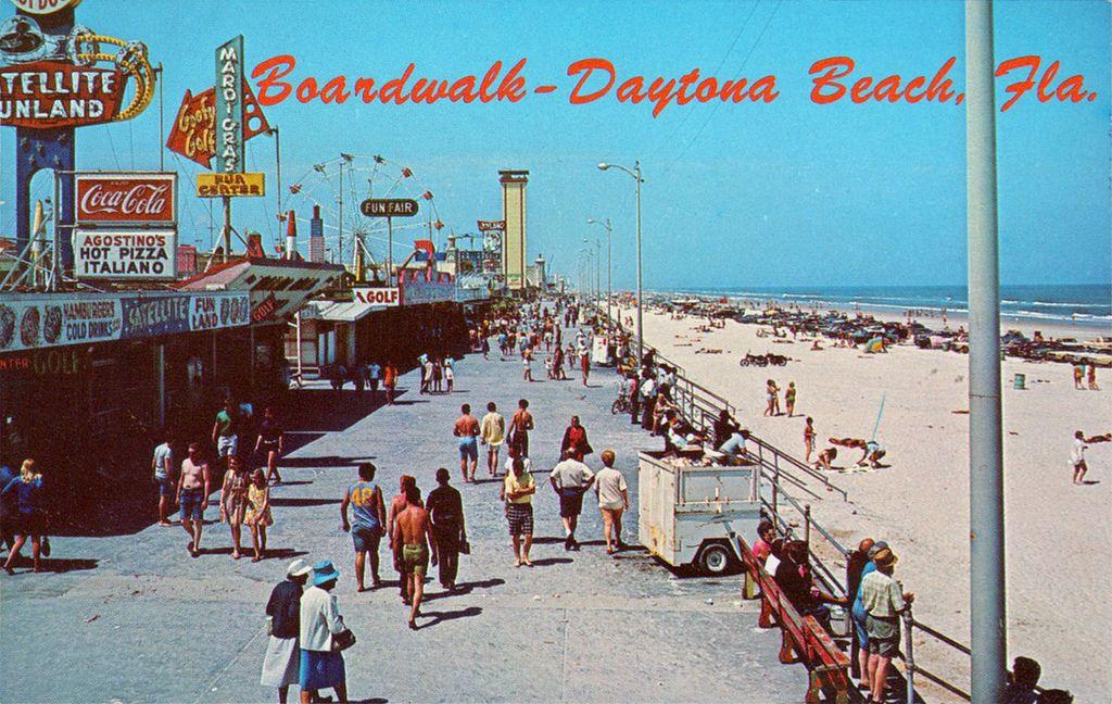 Boardwalk At Daytona Beach Florida 1960 S Flickr Photo Sharing