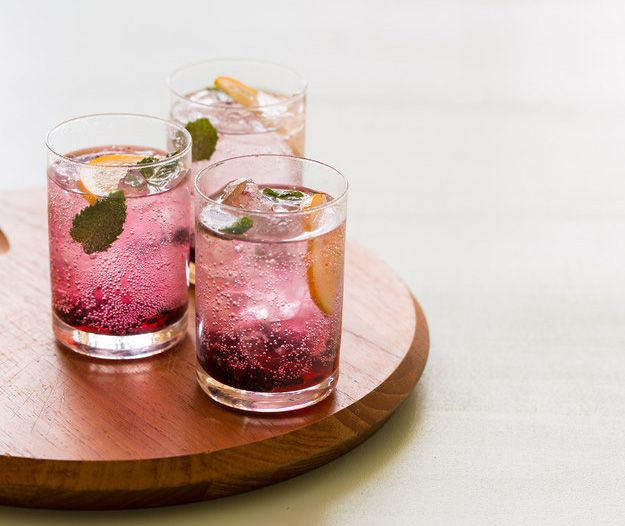 Creative gin tonic
