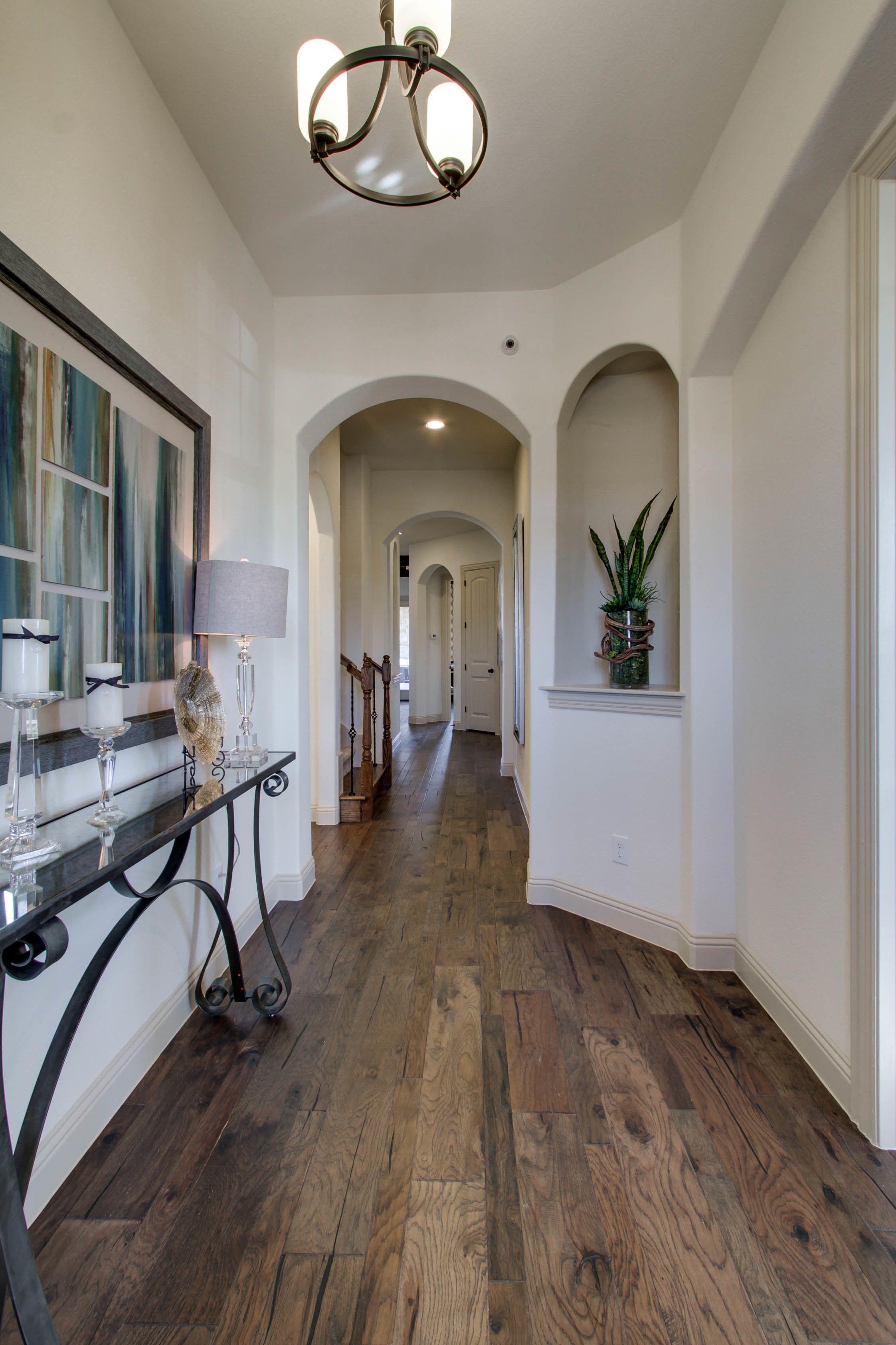 Gehan Homes Entryway Long Hallway Dark