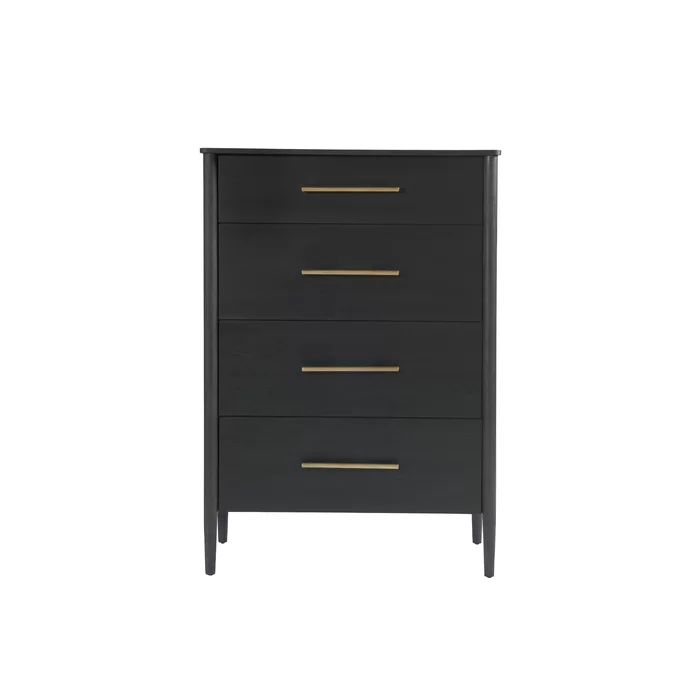 Lewis 4 Drawer Chest Drawers Dresser With Mirror Universal Furniture