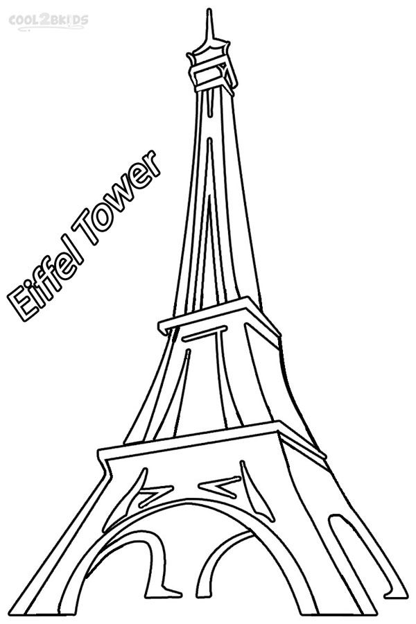 eiffel tower coloring pages diva and flea pinterest third grade art