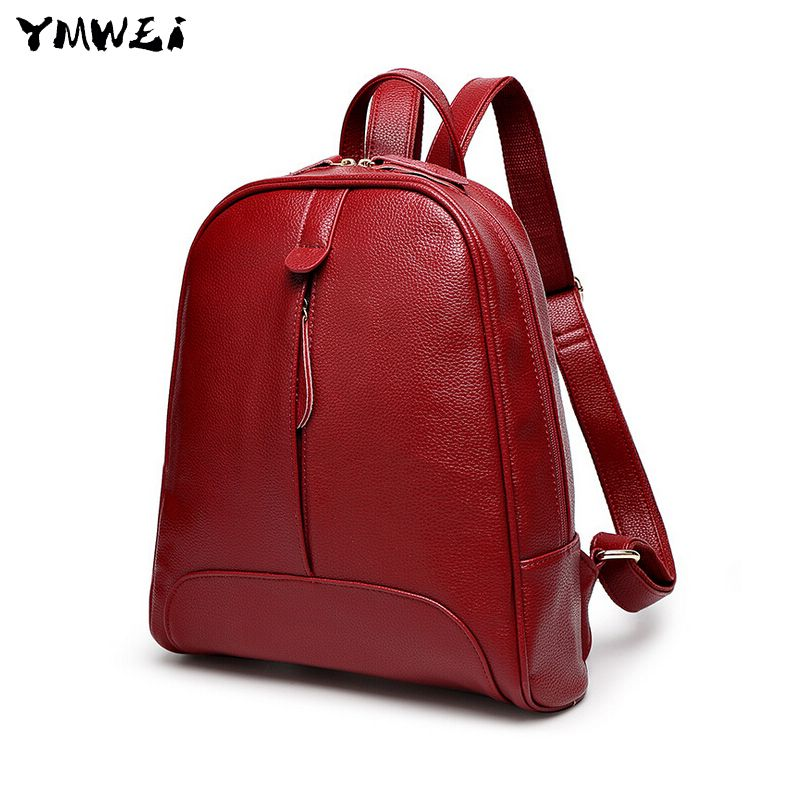 (Buy here: http://appdeal.ru/2exf ) 2016 back-to-school backpack new female bag head layer cowhide bag for just US $29.78