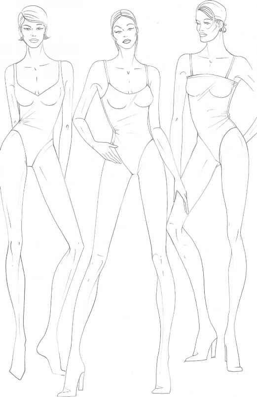 Fashion Figure Drawing  \u2026