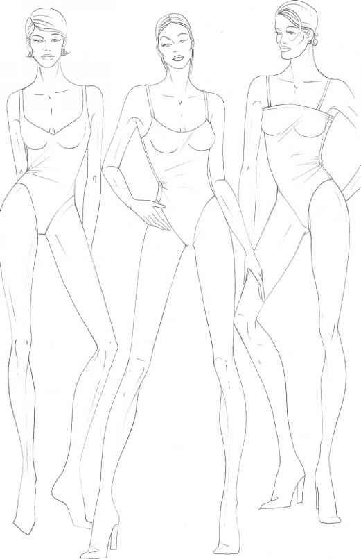 Fashion Figure Drawing ... | Working Girl | Pinterest | Flats ...
