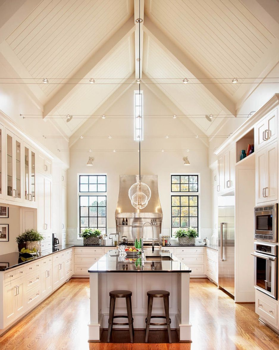 I could spend all day in this kitchen House Inspiration
