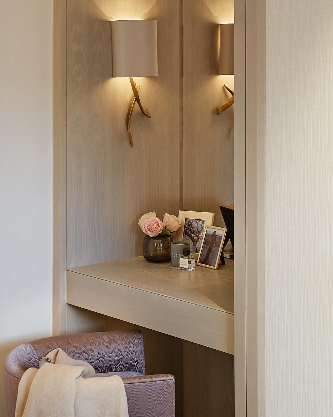Dressing Table Nook At Our Belgravia Townhouse