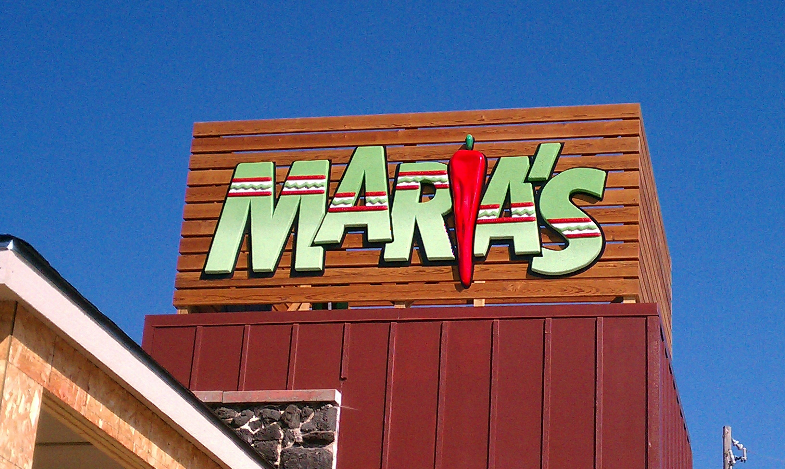 Maria's Mexican Restaurant Ralston, NE Outdoor sign