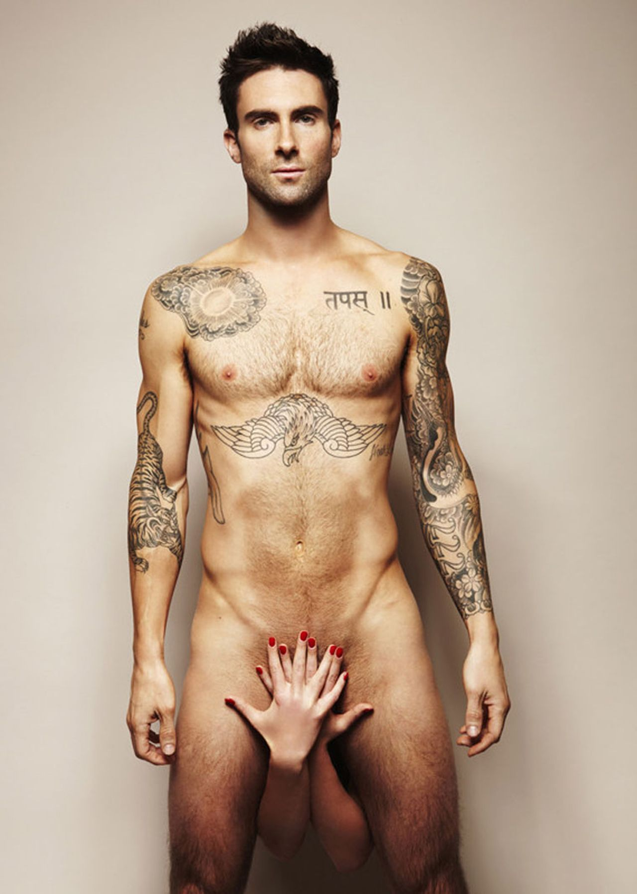 adam levine: best naked bodies in hollywood - view celebrity