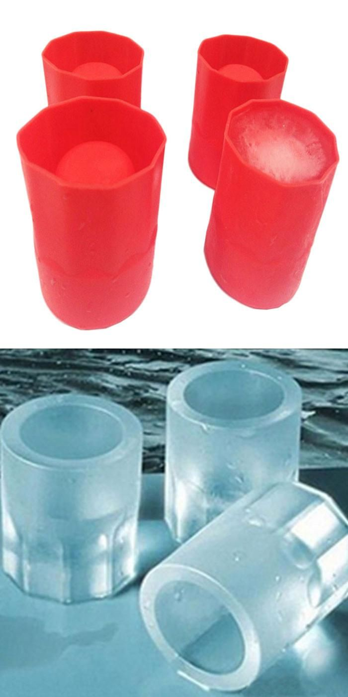 Visit to Buy] New Cup Silicone Mold Cooking ice cube Trays the goods ...