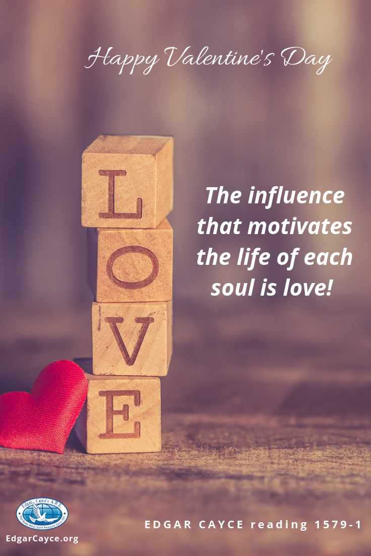 The influence that motivates the life of each soul is love