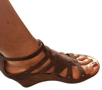 Kenneth Cole Reaction Brown Wedges | Wedges on Sale at Tradesy