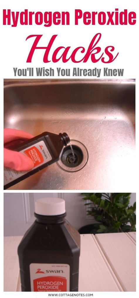 How To Clean Your Home With Hydrogen Peroxide #cleaning