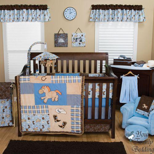 Baby Boy Room Decor, Western Baby Bedding Crib Sets