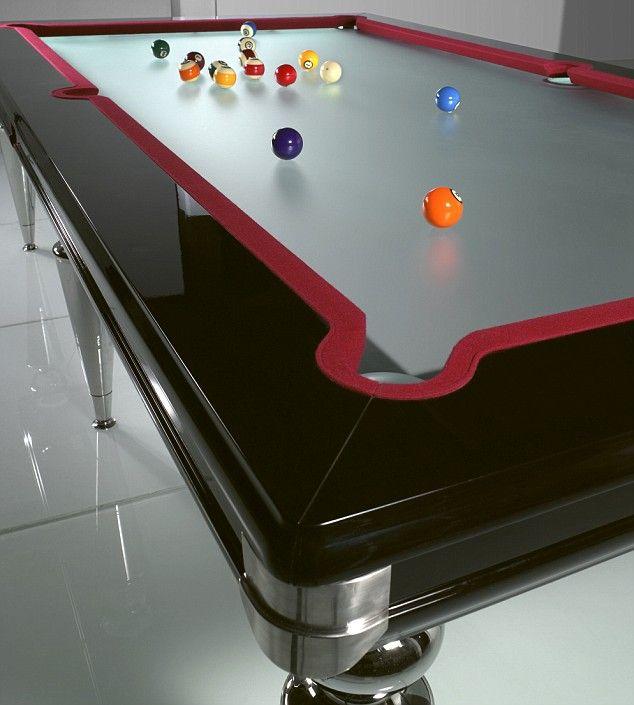 Glass Reflex Pool Table