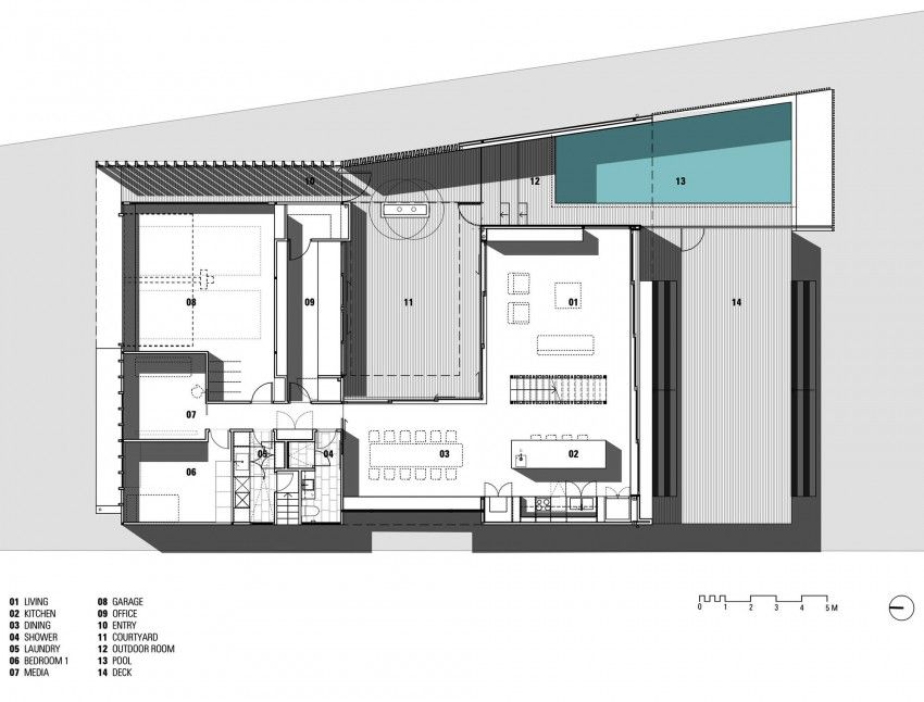 Narrabeen House By Chrofi House Floor Plans House Home Design Magazines