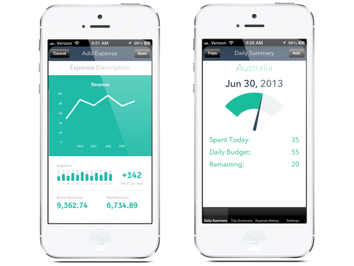 tripsaver an iphone app for managing your travel expenses budget