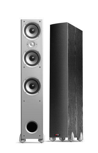 Polk Audio Monitor 60 Am6025 A 2 Way Floorstanding Speaker Single Black By Polk Audio 204 99 From The Manufacturer Polk Audio Speaker Loudspeaker