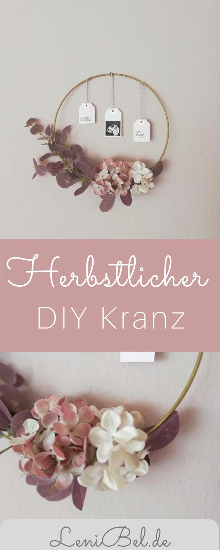 Photo of Herbst Kranz – DIY Deko für Tür und Wand
