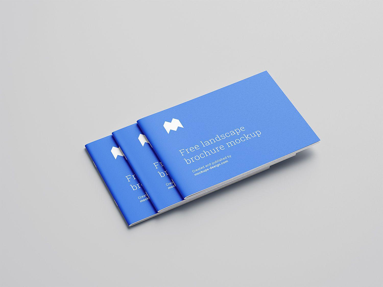 Catalogue mockup free