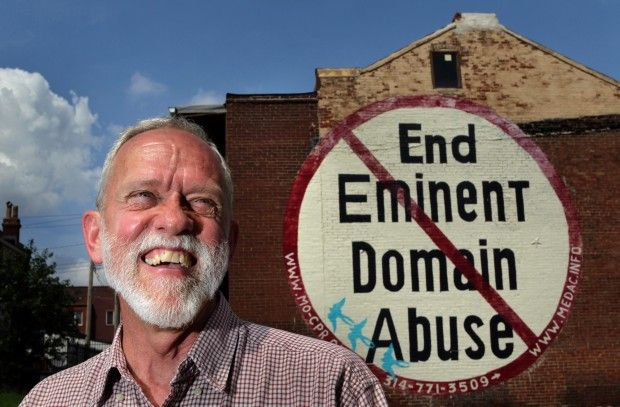 Federal appeals court backs man in fight over St. Louis eminent domain sign