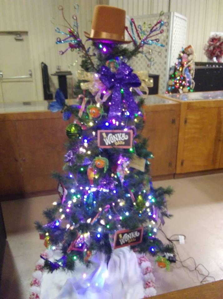 West Virginia State Fair 2017 3rd Place Christmas Tree Decorating Contest Theme Favorite Movies Tree Decorations Christmas Tree Holiday Decor