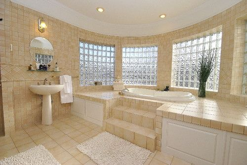 Large Bathroom Designs Amusing Make Your Choices Simple And Similartiling A Large Bathroom Can 2018