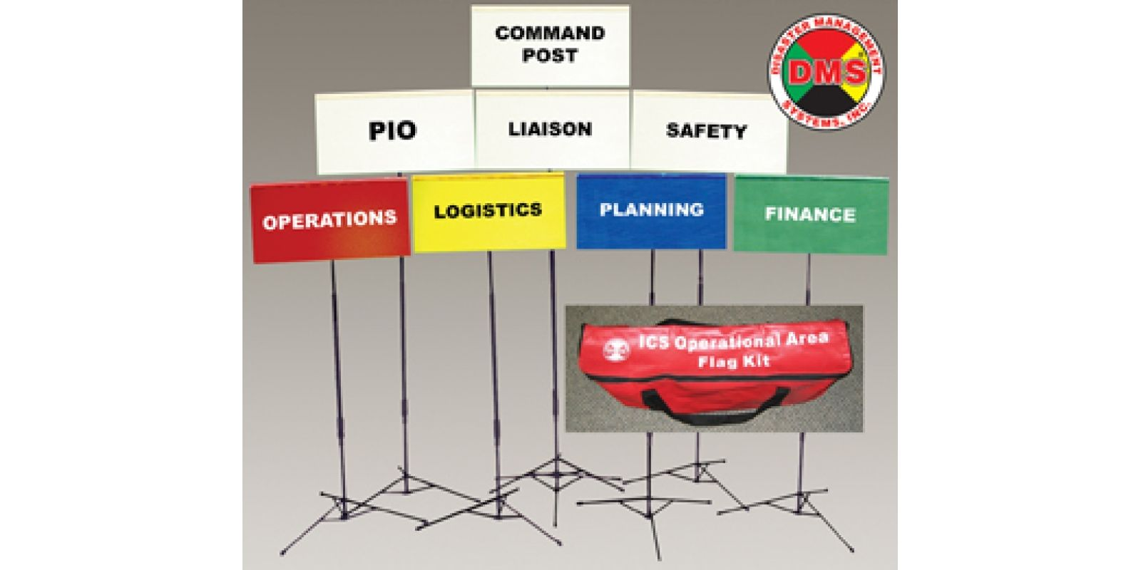 Incident Command System Flag Kit It Is Set Forth In The National Incident Management System