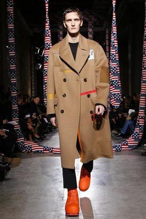 라프 시몬스는, 남성복, 2014 년 겨울, 파리 가을