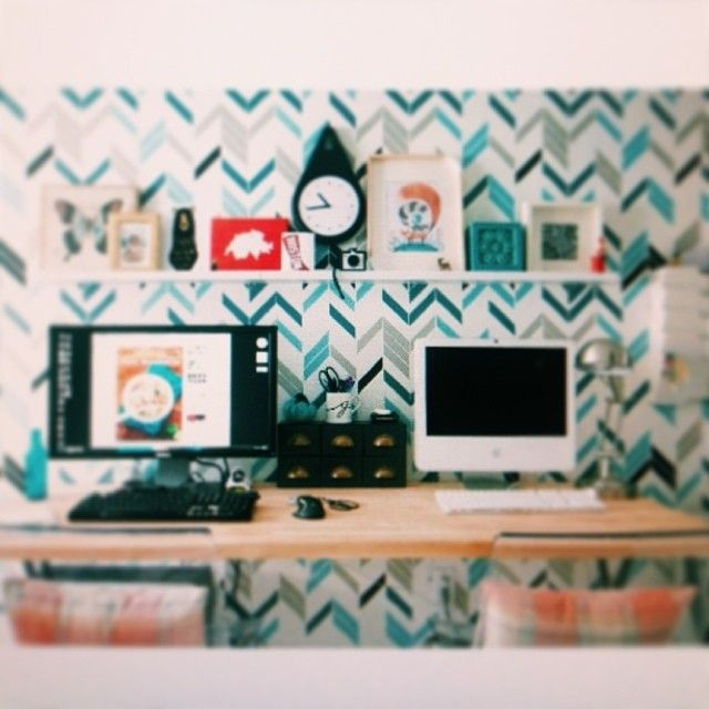 Office Revamp On The Blog Today With @Toni Carroll Living