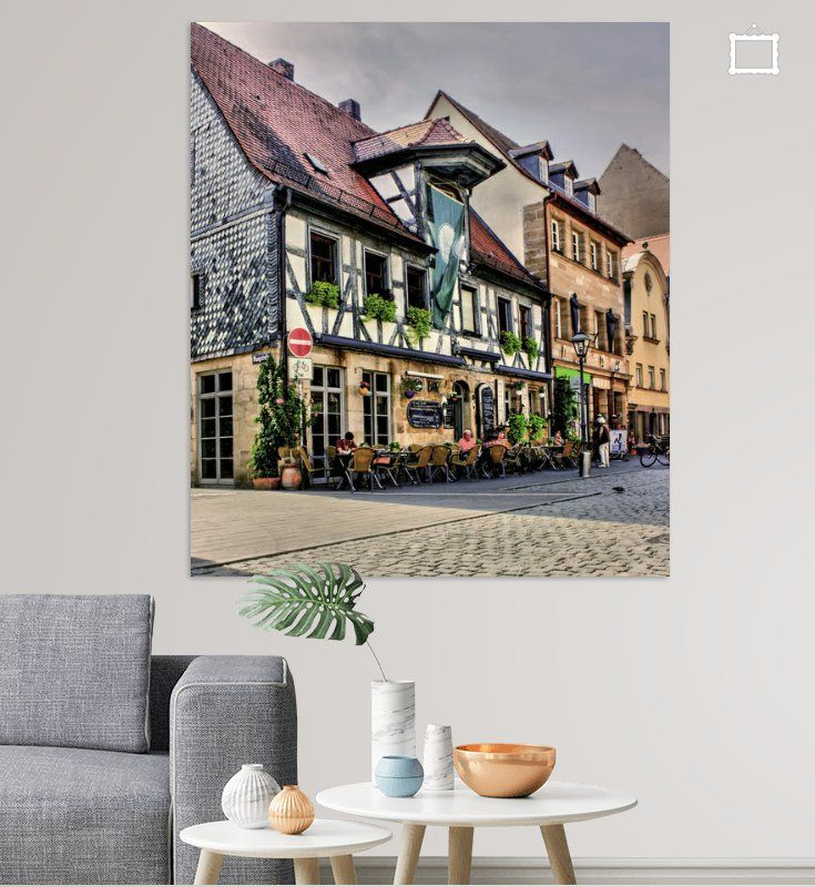 Altstadtflair Poster Karl Heinz Lüpke Ohmyprints