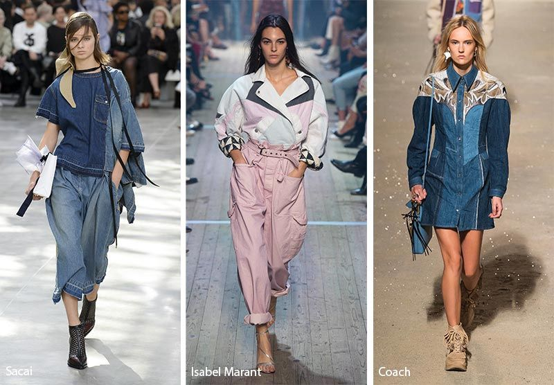 72d669e9402e10 Spring  Summer 2019 Fashion Trends  Patched Denim