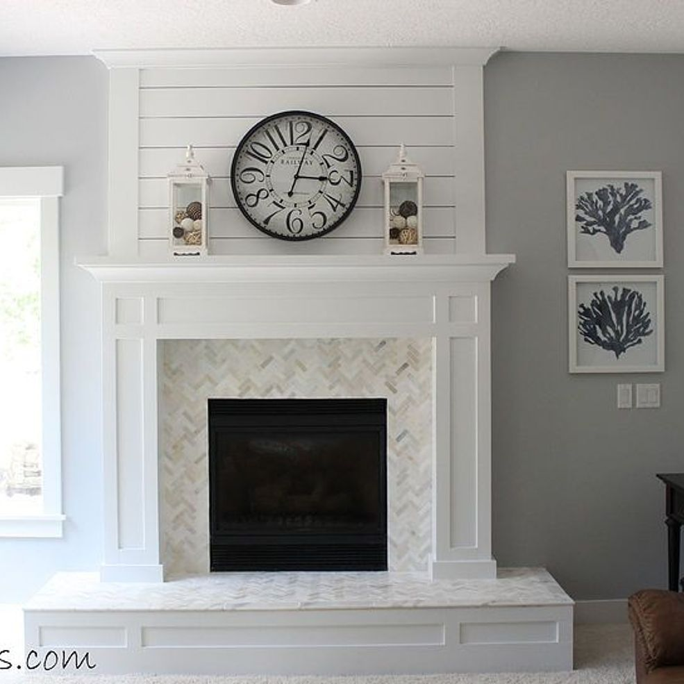 39 Attic Living Rooms That Really Are The Best: Fireplace Makeover Before And After In 2020
