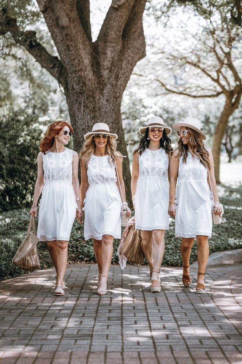 Casual Summer Dress White Summer Dress From J Jill Summer Dresses White Dress Summer Casual White Dress [ 1200 x 800 Pixel ]