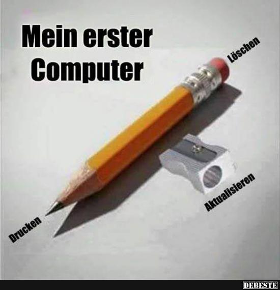 Besten Bilder, Videos und Sprüche und es kommen täglich neue lustige Facebook Bilder auf DEBESTE.DE. Hier werden täglich Witze und Sprüche gepostet! #computer