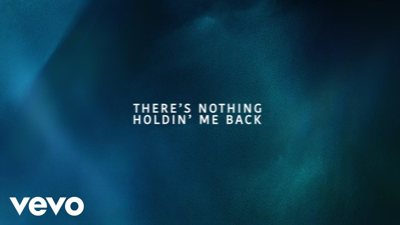 Shawn Mendes - There's Nothing Holdin' Me Back (Lyric Video) this song came out yesterday and i love the song. the chorus is the best!