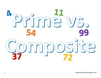 Want a fun way to teach prime and composite.  This is a game that my kids had fun playing and it gets them up out of their seat.  Who can get the highest score while searching for prime numbers, however, for every composite number you get you will deduct points from your score.