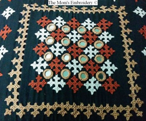 The Moms Embroidery Kutch Embroidery Kutch Work Pinterest