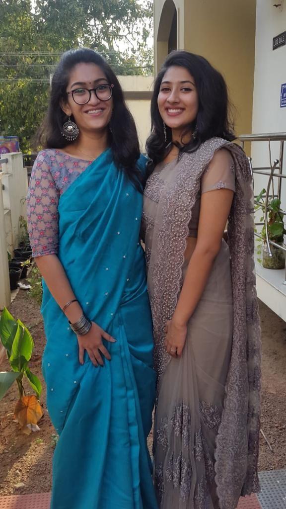 Farewell sarees/school ideas | Farewell sarees, Saree, Saree look