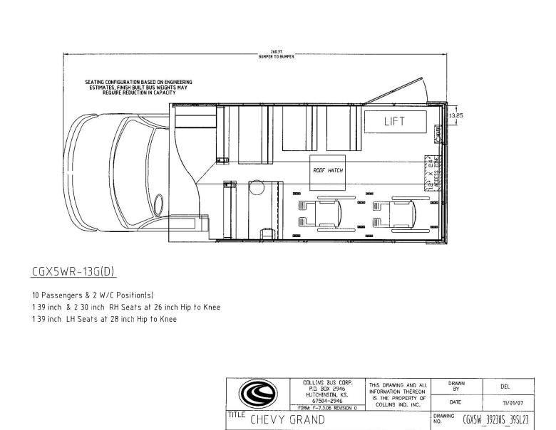 Bus Conversion Floor Plans 209
