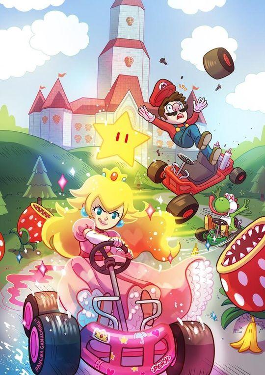 Wii U Mario Kart 8 Snes Rainbow Road Mario Kart 8 Mario