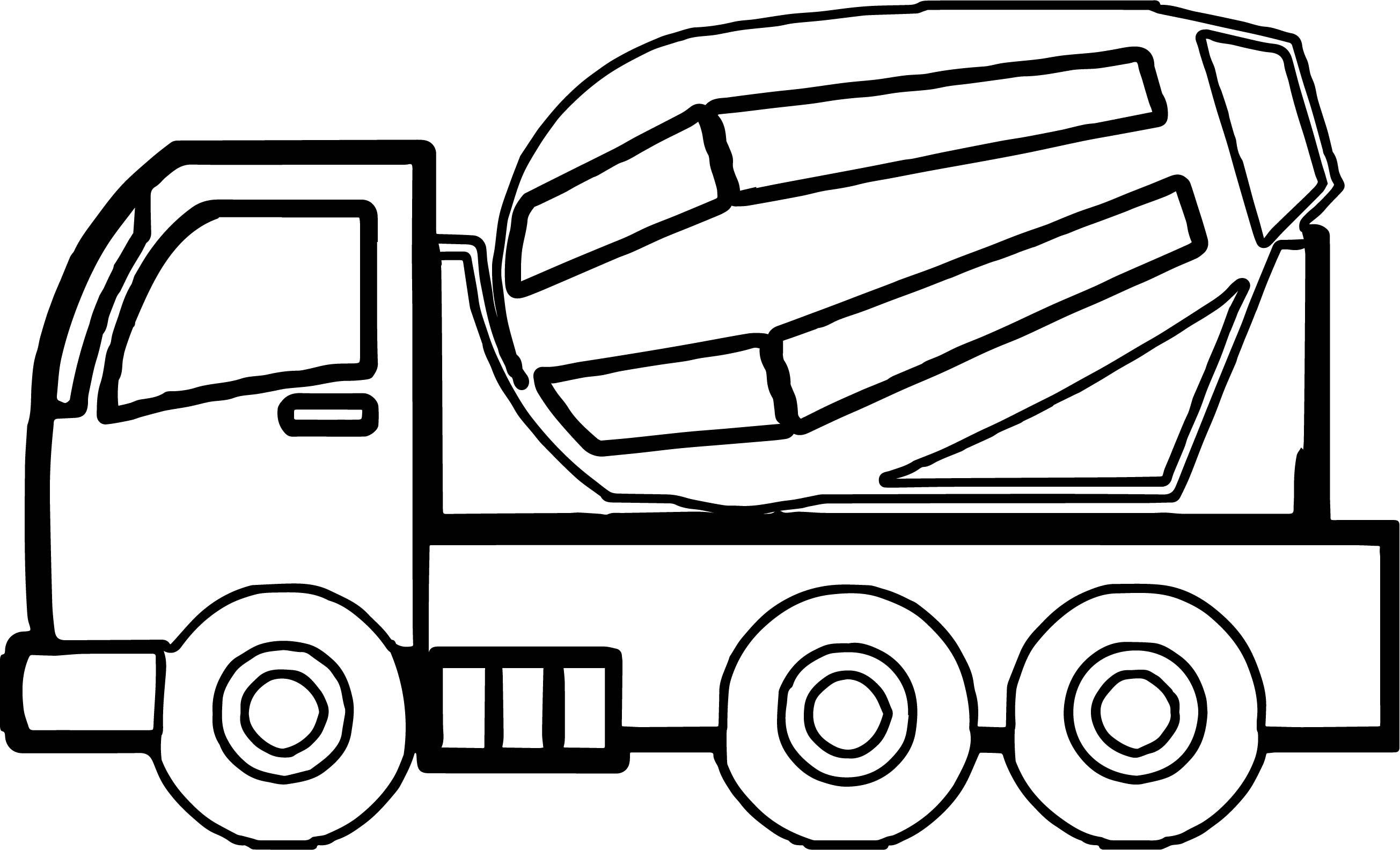 24 Marvelous Picture Of Construction Coloring Pages Truck