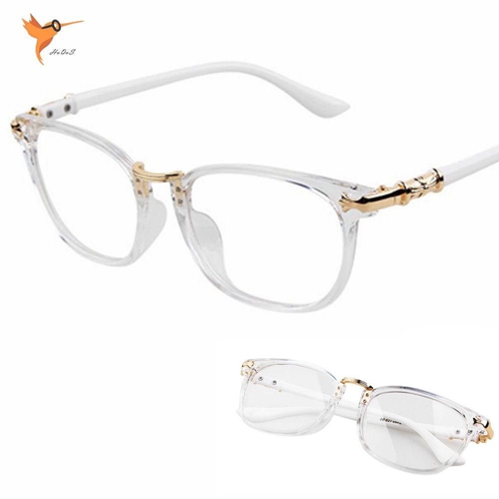 3a876688f6 New Fashion women Glasses Frame vintage Retro men eyeglasses clear lens reading  frame optical brand designer