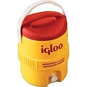 Igloo 17 1 4 In Dia X 23 1 4 In H Yellow Plastic Beverage Cooler With Spigot 10 Gal Review Buy Now