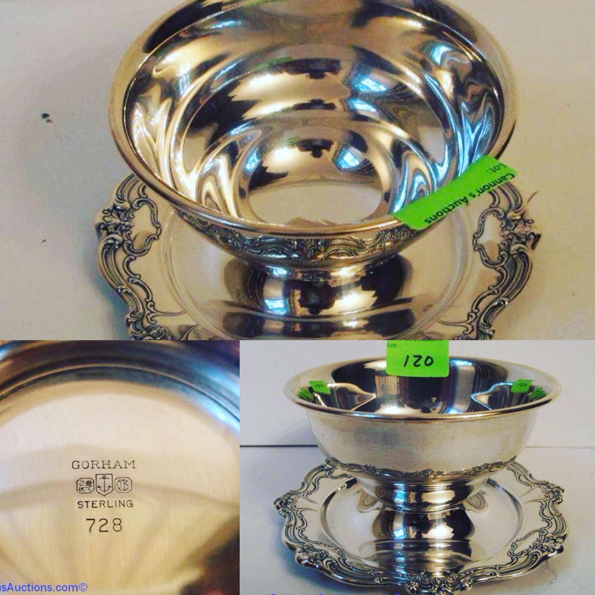 Est 1931 gorham the preferred tableware of the white