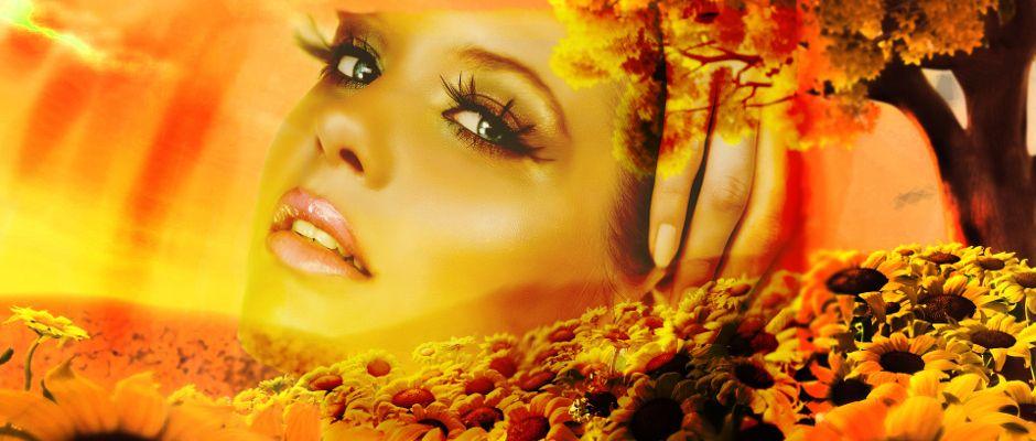 Oshun representado como diosa. Desde http://www.hechizosyamor.es