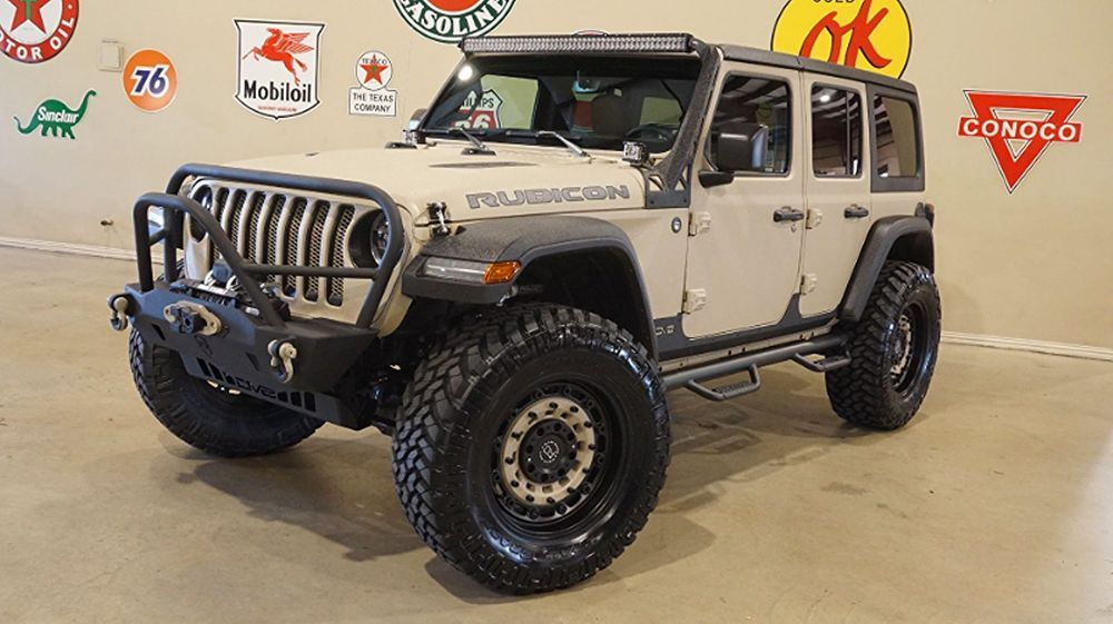 Ebay 2018 Jeep Wrangler Jl Unlimited Rubicon 4x4 Dupont Kevlar Lifted Lth Led S 2018 Tan Rubicon 4x4 Dupont Kevlar Lifted Lt Wrangler Jl Jeep Wrangler Kevlar