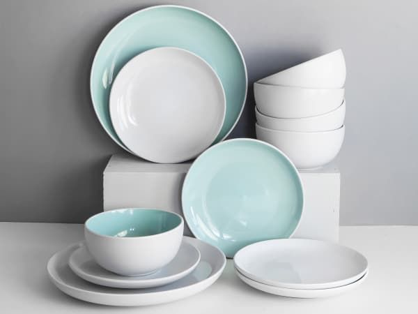 Humble and Mash Stoneware Dinner Plates Set of 4 - Yuppiechef : kitchen plate sets - Pezcame.Com